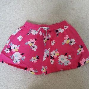 🌷Carter's Toddler Girl 3T Floral Skort NWOT